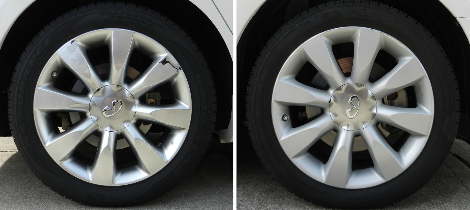 Wheel Coating Vs Paint Car